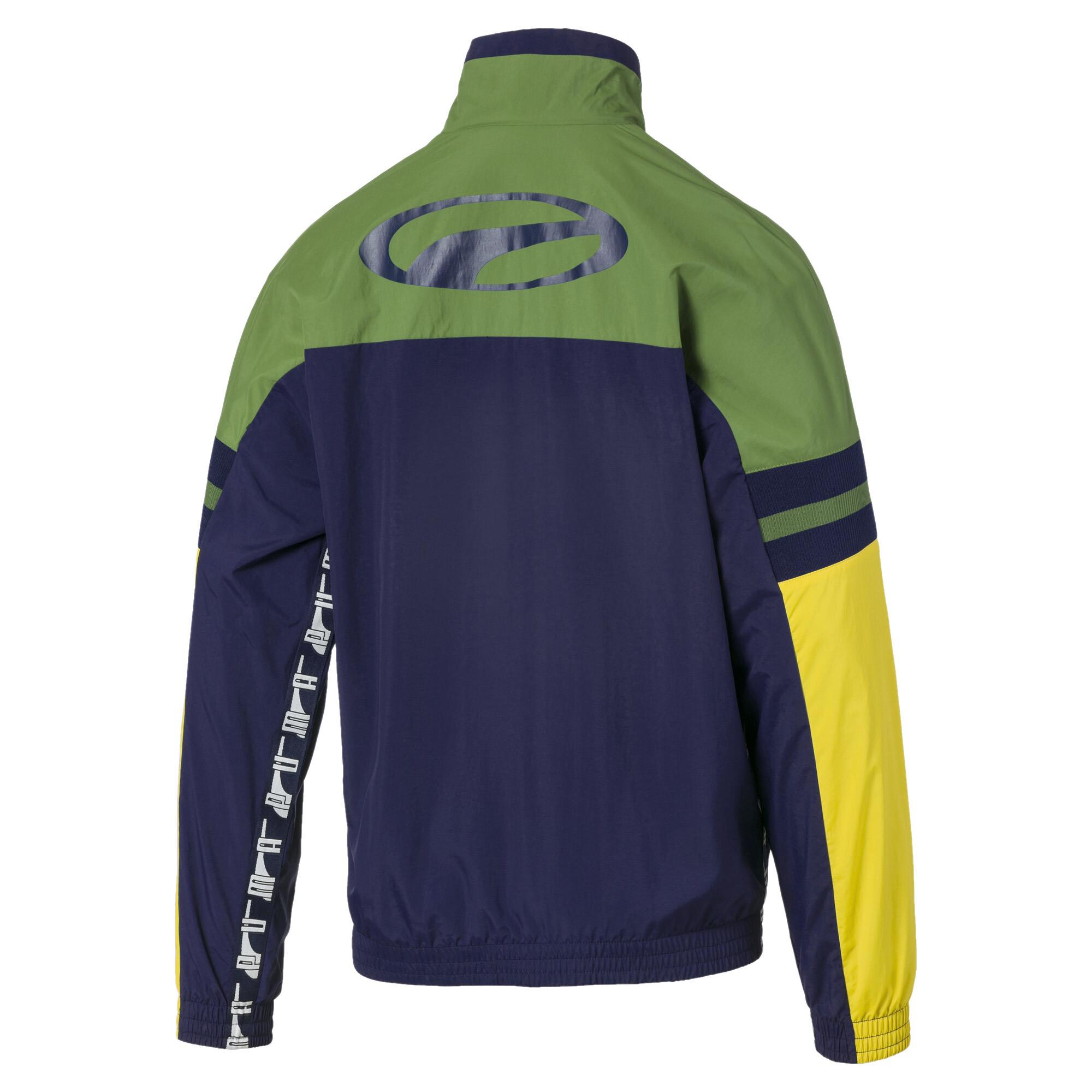 PUMA-PUMA-XTG-Men-039-s-Woven-Jacket-Men-Track-Jacket-Sport-Classics thumbnail 3