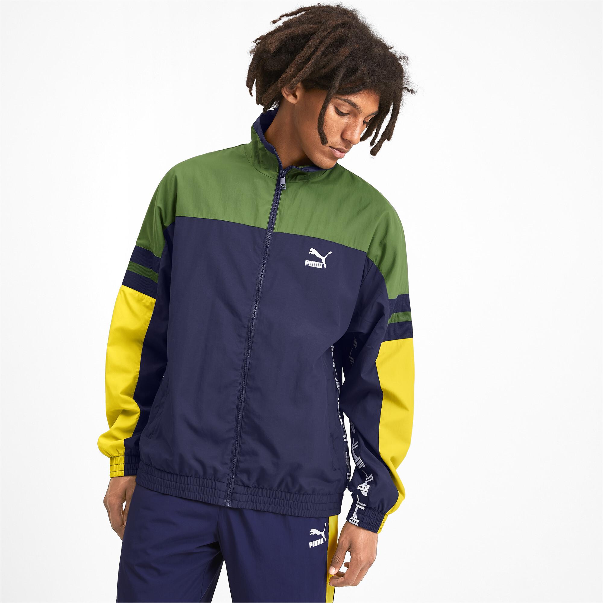 PUMA-PUMA-XTG-Men-039-s-Woven-Jacket-Men-Track-Jacket-Sport-Classics thumbnail 4