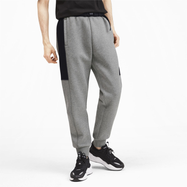 Epoch Hybrid Men's Sweatpants, Medium Gray Heather, large