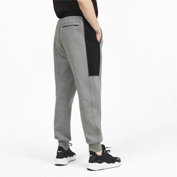 Pantalones deportivos Epoch Hybrid para hombre, Medium Gray Heather, grande
