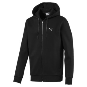 Thumbnail 1 of Epoch Long Sleeve Full Zip Men's Hoodie, Puma Black, medium