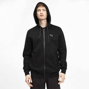 Thumbnail 2 of Epoch Long Sleeve Full Zip Men's Hoodie, Puma Black, medium