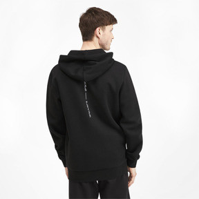 Thumbnail 3 of Epoch Long Sleeve Full Zip Men's Hoodie, Puma Black, medium
