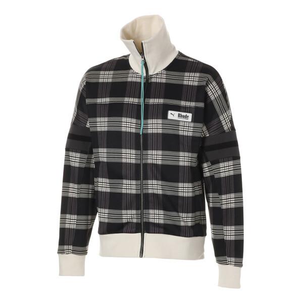PUMA x RHUDE XTG Men's Track Jacket, Puma White AOP, large