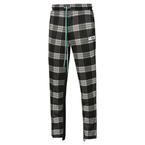 Thumbnail 1 of PUMA x RHUDE All-Over Print Knitted Men's Track Pants, Puma White AOP, medium