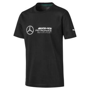 Miniatura 1 de Camiseta con logo Mercedes AMG Petronas para hombre, Puma Black, mediano