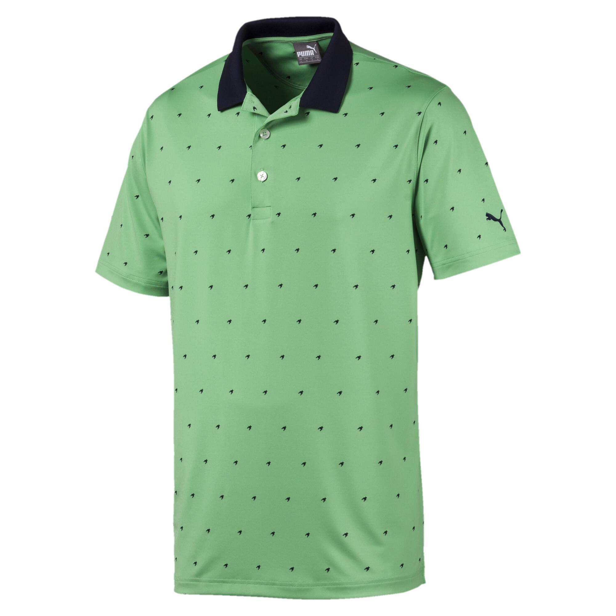 プーマ ゴルフ スケリーズ ポロシャツ 半袖 メンズ Irish Green |PUMA.com