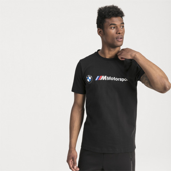 9b9b037cbe BMW M Motorsport Logo Herren T-Shirt | Puma Black | PUMA Shoes ...