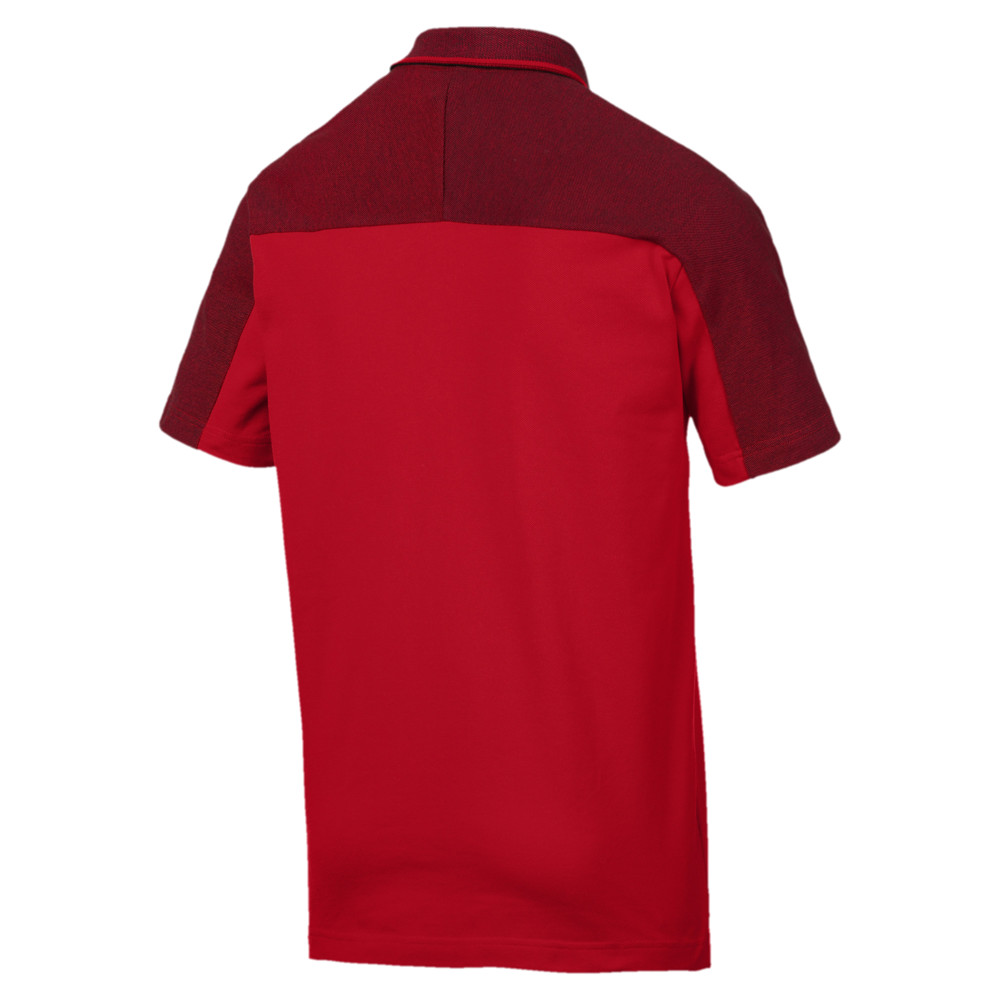 Image Puma Ferrari Short Sleeve Men's Polo Shirt #2