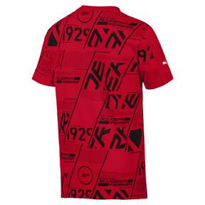 Miniatura 2 de Camiseta Scuderia Ferrari AOP para hombre, Rosso Corsa, mediano