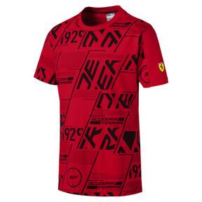 Miniatura 1 de Camiseta Scuderia Ferrari AOP para hombre, Rosso Corsa, mediano