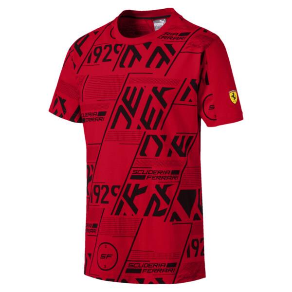 Camiseta Scuderia Ferrari AOP para hombre, Rosso Corsa, grande