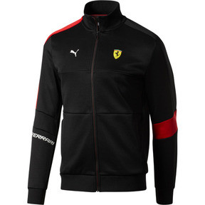 Miniatura 1 de Chaqueta deportiva Scuderia Ferrari T7 para hombre, Puma Black, mediano