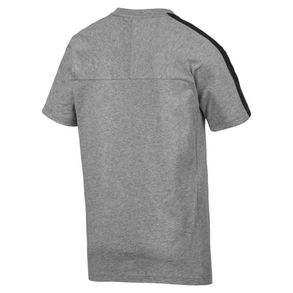 Scuderia Ferrari T7 Men's Tee, Medium Gray Heather, large