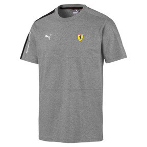 Thumbnail 4 of Scuderia Ferrari T7 Men's Tee, Medium Gray Heather, medium