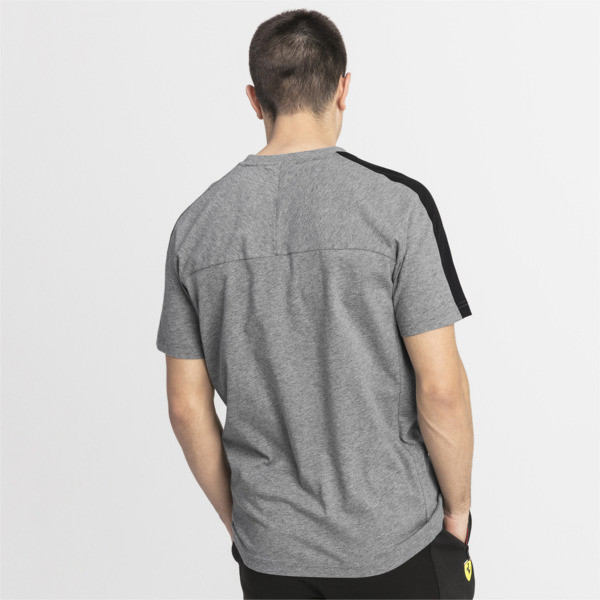 T-Shirt Ferrari pour homme, Medium Gray Heather, large