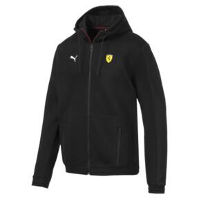 Scuderia Ferrari Men's Hooded Sweat Jacket