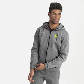 Thumbnail 1 of Blouson de sweat à capuche Ferrari pour homme, Medium Gray Heather, medium