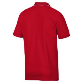 Miniatura 2 de Camiseta tipo polo Scuderia Ferrari para hombre, Rosso Corsa, mediano