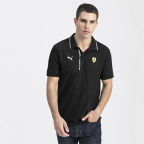 Thumbnail 1 of Ferrari Men's Polo Shirt, Puma Black, medium