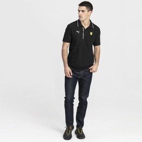 Thumbnail 3 of Ferrari Men's Polo Shirt, Puma Black, medium
