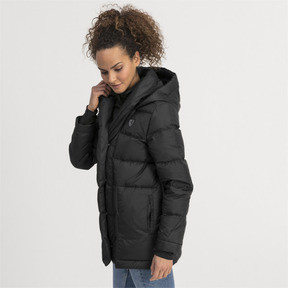 Thumbnail 1 of Ferrari Down Women's Jacket, Puma Black, medium