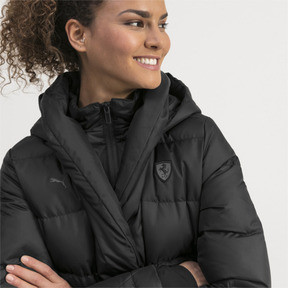 Thumbnail 4 of Ferrari Down Women's Jacket, Puma Black, medium