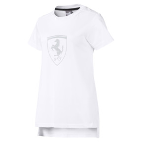 T-Shirt Ferrari Big Shield pour femme