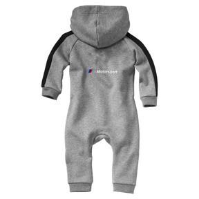 Miniatura 2 de Enterito BMW M Motorsport para infante y bebé, Medium Gray Heather, mediano