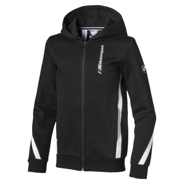 BMW M Motorsport Boys' Hooded Sweat Jacket JR