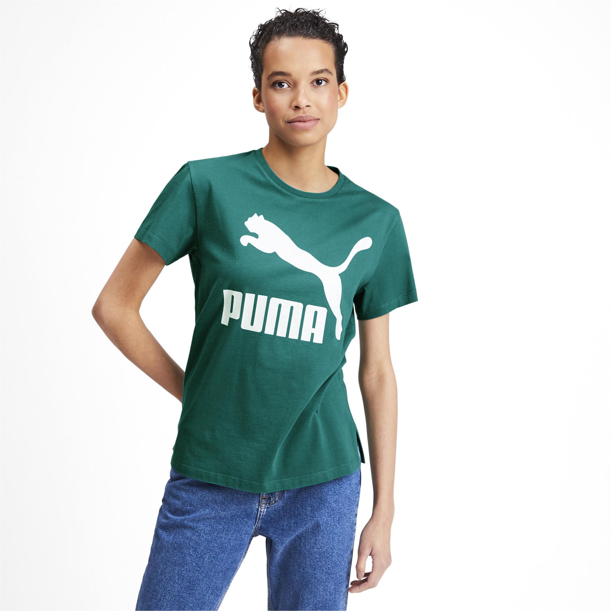PUMA-Classics-Women-039-s-Logo-Tee-Women-Tee-Sport-Classics thumbnail 17