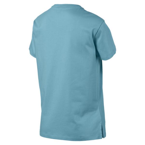 Camiseta Classics con logotipo para mujer, Milky Blue, grande