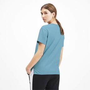 Miniatura 2 de Camiseta Classics con logotipo para mujer, Milky Blue, mediano