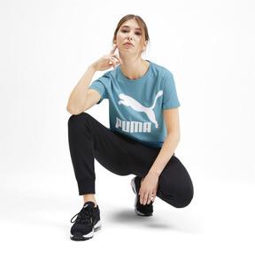 Miniatura 3 de Camiseta Classics con logotipo para mujer, Milky Blue, mediano
