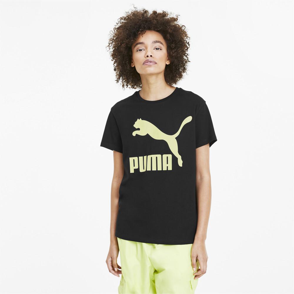 Görüntü Puma CLASSICS LOGO Kadın T-Shirt #1