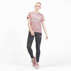 Miniatura 3 de Camiseta Classics AOP con logo para mujer, Bridal Rose, mediano