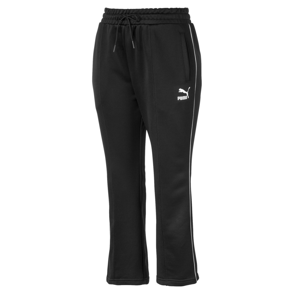 Image PUMA Classics Kick Flare Knitted Women's Pants #1