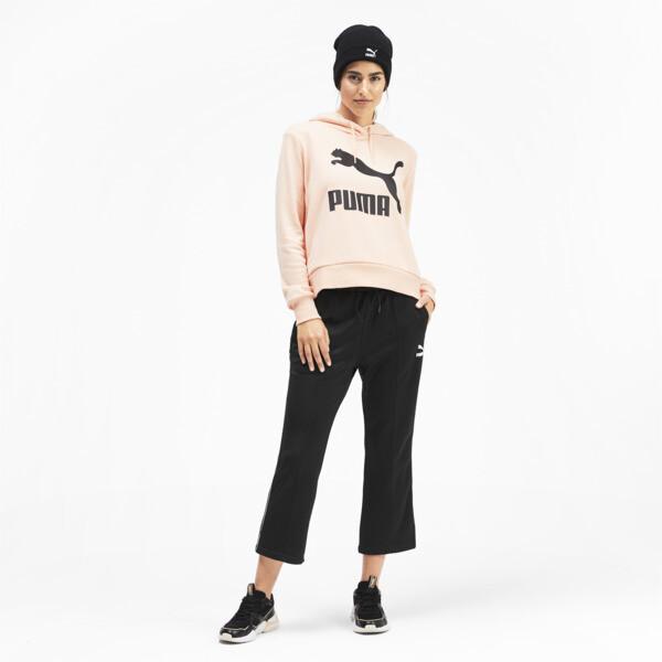 Pantalones acanalados clásicos Kick para mujer, Puma Black, grande