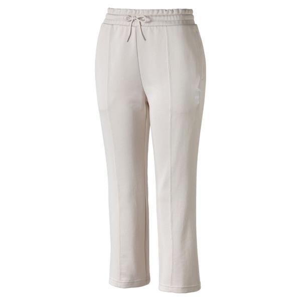 Classics Kick Flare Knitted Women's Pants, Pastel Parchment, large