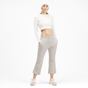 Thumbnail 3 of Classics Women's Kick Flare Pants, Pastel Parchment, medium