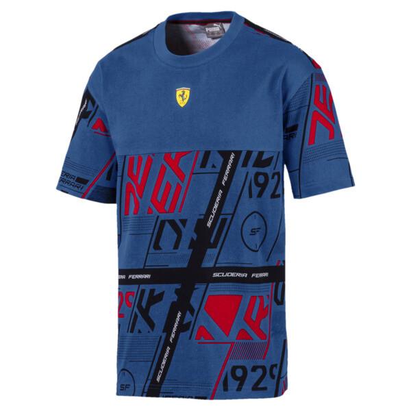 Camiseta Scuderia Ferrari Street para hombre, Galaxy Blue, grande