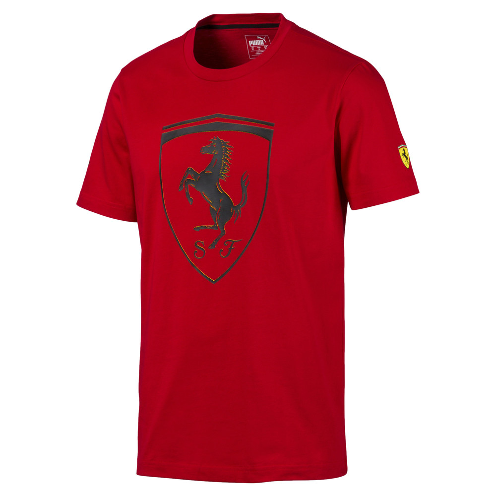 Image PUMA Ferrari Big Shield Men's Tee #1