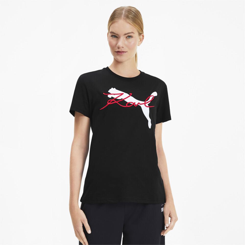 Görüntü Puma PUMA x KARL LAGERFELD Kadın T-Shirt #1