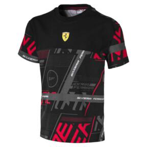 Camiseta urbana Scuderia Ferrari para niño joven