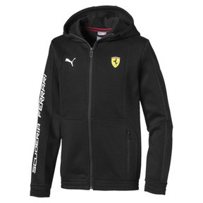 Scuderia Ferrari Boys' Hooded Sweat Jacket JR