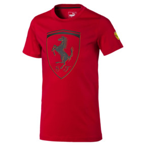 Scuderia Ferrari Boys' Big Shield Tee JR