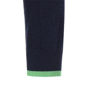 Thumbnail 5 of ゴルフ ダンルース 1/4 ジップ, Peacoat-irish green, medium-JPN