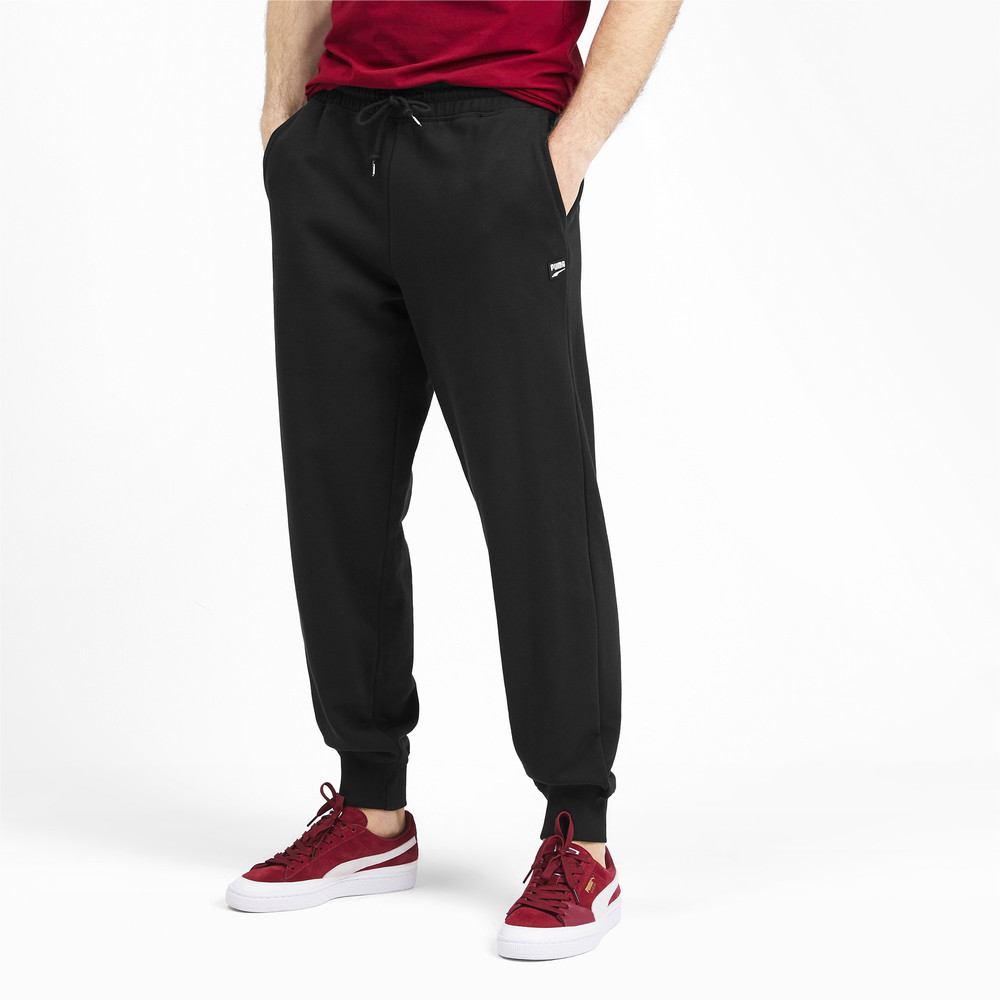 Зображення Puma Штани Downtown Sweat Pants Cuffed #1