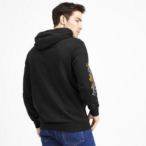 Miniatura 3 de Sudadera con capucha Sakura Pack para hombre, Puma Black, mediano