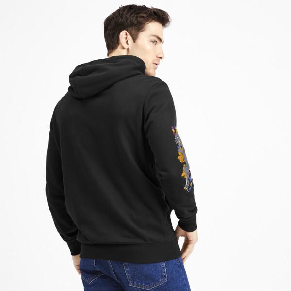 Sudadera con capucha Sakura Pack para hombre, Puma Black, grande
